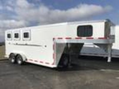 2019 Frontier 3 Horse Slant load Gooseneck with Dressing Room RVH 1380