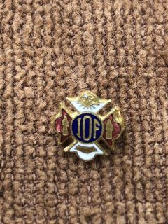 Vintage I.O.F. Independent Order of Foresters Pin