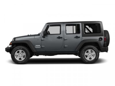 2015 Jeep Wrangler Unlimited Sahara (Billet Silver Metallic Clearcoat)