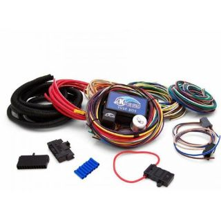 Find 8 Fuse 49 Terminal Wire Panel System - Keep It Clean sbc rzr 356 project hot rod motorcycle in Portland, Oregon, United States, for US $136.00