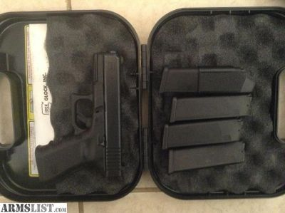 For Trade: GLOCK 38 W/NITE SITES 4 MAGS & 740RDS AMMO