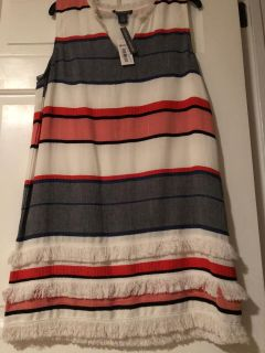 Chelsea & Theodore Sleeveless Dress, Size L - Large, New with Tags Attached