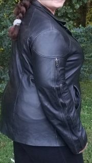 LEATHER JACKET ~ custom-made hand tailored in Morocco