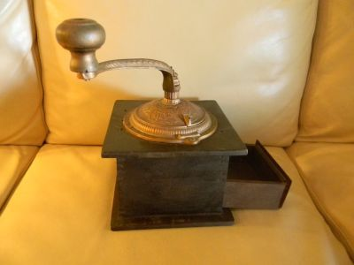 Imperial Antique Coffee Grinder by Arcade Manufacturing Company
