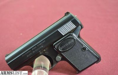For Sale: Browning Baby Browning 25 ACP NEAR MINT Belgium