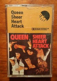 QUEEN Sheer Heart Attack Cassette Tape UK 5099919602547 - Killer Queen good condition tested and plays well