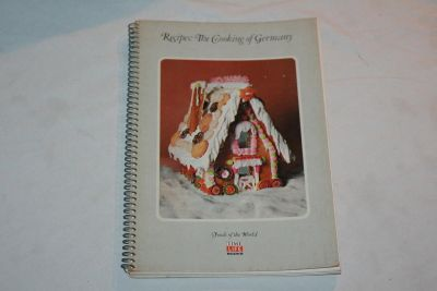 Vintage 1969 Time Life Foods of the World Recipes The Cooking of Germany