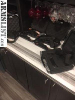 For Trade: Handguns for Rifle