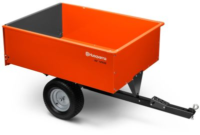 2018 Husqvarna 16 Cu. Ft. Steel Swivel Dump Cart Dump Trailers Trailers Hancock, WI