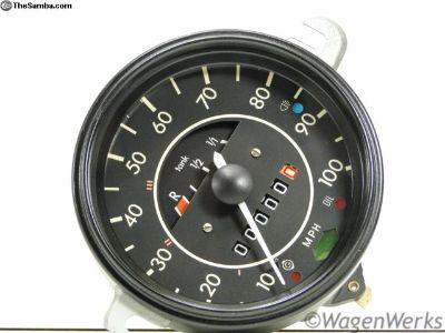 Bug Rebuilt Speedometer - 1972 to 1974