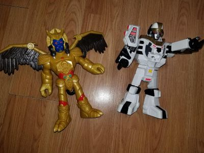 Imaginext Power Rangers gently used very good condition price is for both