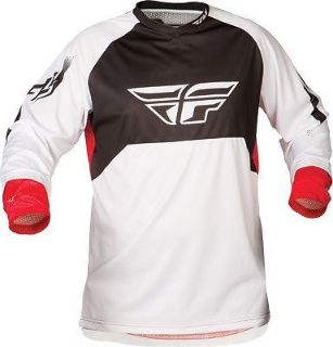 Sell Ripa Convert Jersey Trimmable Sleeves White/Red S-2X Fly Racing Watersports motorcycle in Hinckley, Ohio, United States, for US $40.46