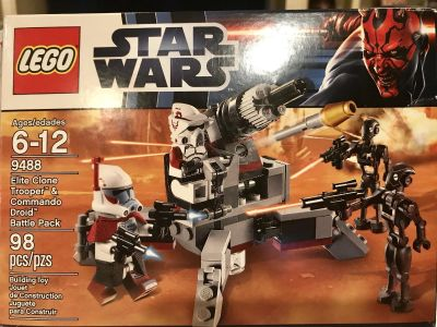 LEGO Star Wars set - includes all pieces, box and instructions