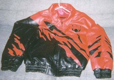 Viper Leather Jacket w/Leather Hat