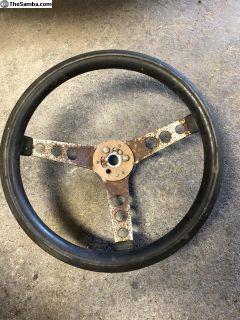 Rat Rod Steering Wheel 13 Inch Big Spline
