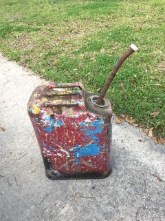 Vintage Jerry Military Gas Can