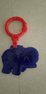 Teether. We used it on the stroller for child to play with.