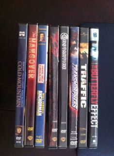 DVD collection of 8