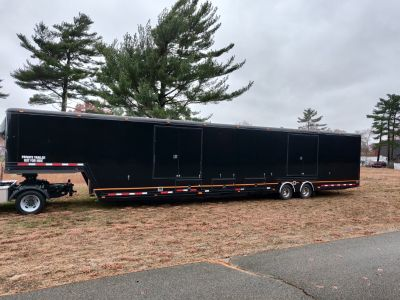 2001 Featherlite 3 car trailer
