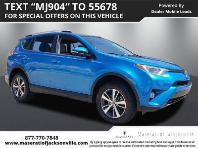 2016 Toyota RAV4 XLE (Electric Storm Blue)