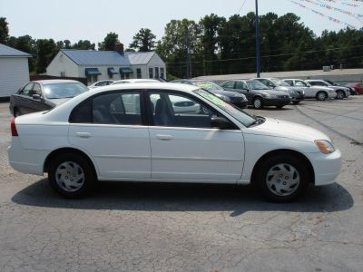 2002 Honda Civic LX (WHI)