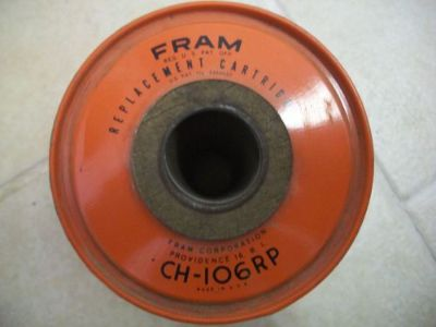 Find VINTAGE OIL FILTER FRAM CH-106RP motorcycle in Golden Valley, Arizona, United States, for US $8.99