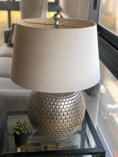 Modern Metal Base Table Lamp