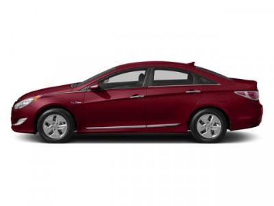 2014 Hyundai Sonata Hybrid Base (Venetian Red Pearl)