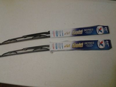 "*NEW* (2) 22"" Valvoline Gold Series Wiper Blades"
