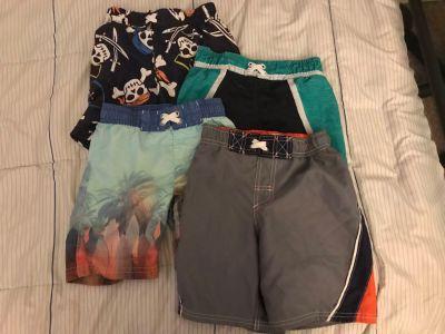 Boys swim trunks 4/5