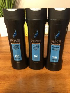 AXE PHOENIX SHAMPOO AND CONDITIONER 2-1