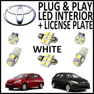 Sell 6x Green LED lights interior package kit for 2009-2013 Toyota Matrix TM1G motorcycle in Houston, Texas, US, for US $13.93