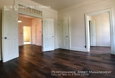 Phenomenal East Side 2BR Upper Unit on Brady Street!