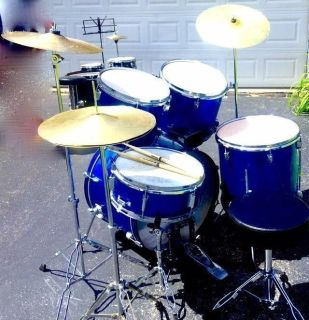 $180 FULL complete drumset w/extra cymbals/seat