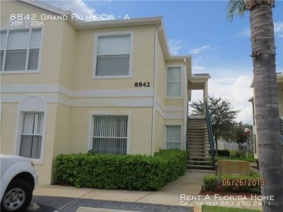 Apartment Rental - 8842 Grand Palms Cir