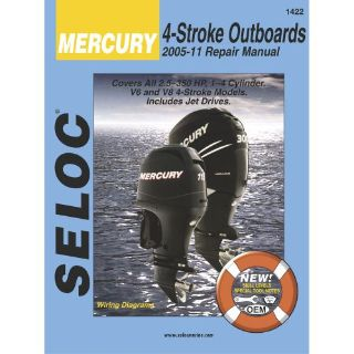 Purchase Seloc Service Manual Mercury & Mariner All 4-Stroke Engines - 2005-2011 -1422 motorcycle in Phoenix, Arizona, United States, for US $37.81