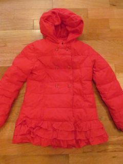 Gymboree size 10 Red Winter Coat (a little dingy on cuffs and slightly by buttons if looking closely)
