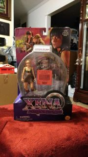 FATHER'S DAY GIFT . (199 Action Figure. Xena Warrior Princess, Gabrielle Orphan of War spinning staff attack by Toy Biz.