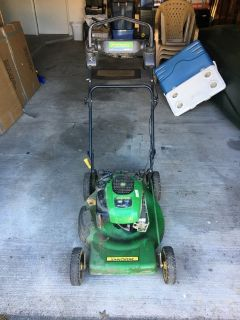 John Deere 700 Series Powered Push Mower