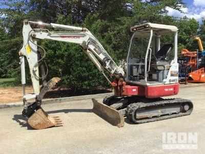 2014 Takeuchi TB138FR Mini Excavator