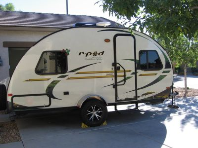 2012 Forest River R-Pod 177 Hood River Edition