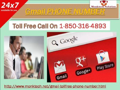 Why might it be fitting for me to go for Gmail phone number 1-850-316-4893 toll free?