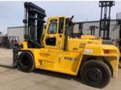 2012 Diesel Hyundai 160D Pneumatic Tire 4 Wheel Sit Down