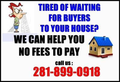 Tired of Selling your house for quite long WE CAN HELP YOU