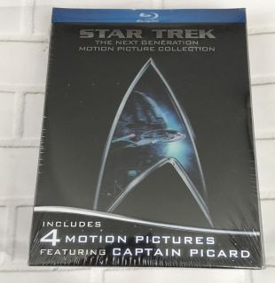 Star Trek The Next Generation Motion Picture Collection on Blu-ray New and Sealed