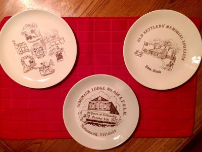 Three collectors plates from 1969 to 1976
