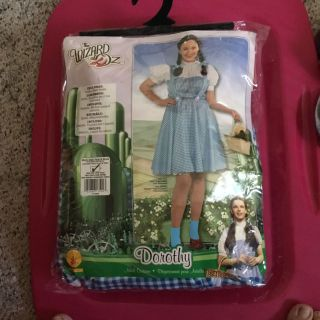 Adult plus size Dorothy of Wizard of Oz costume. NEW Costume only, no shoes