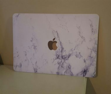 APPLE MACBOOK AIR 13.5 MARBLE PRINT CLIP ON CASE
