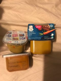 4 things of Gerber baby foods ! Not expired !