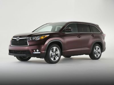 2014 Toyota Highlander Limited (Blizzard Pearl)